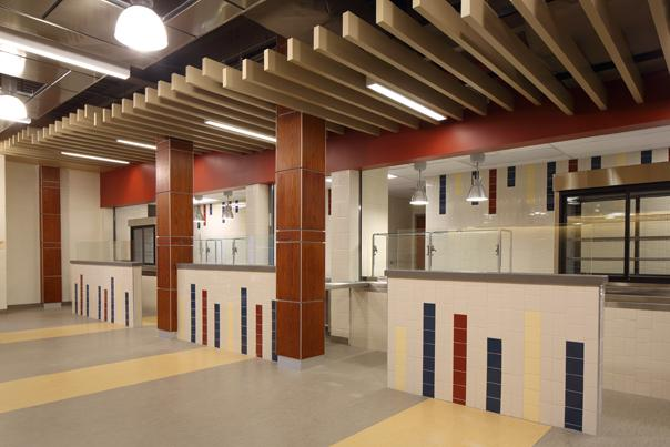 Acoustical Linear Metal Ceiling Baffles
