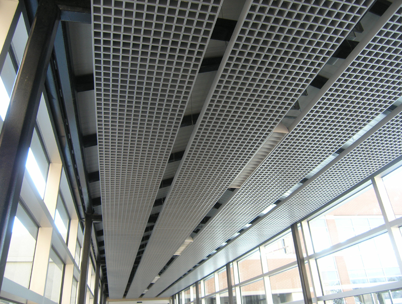 Open Cell Cellular Metal Ceiling System